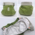 gDiapers Small m/pouch Guppy Green thumbnail